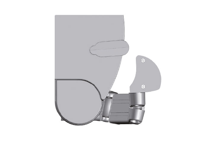 soporte toldo brazo articulado logia 112
