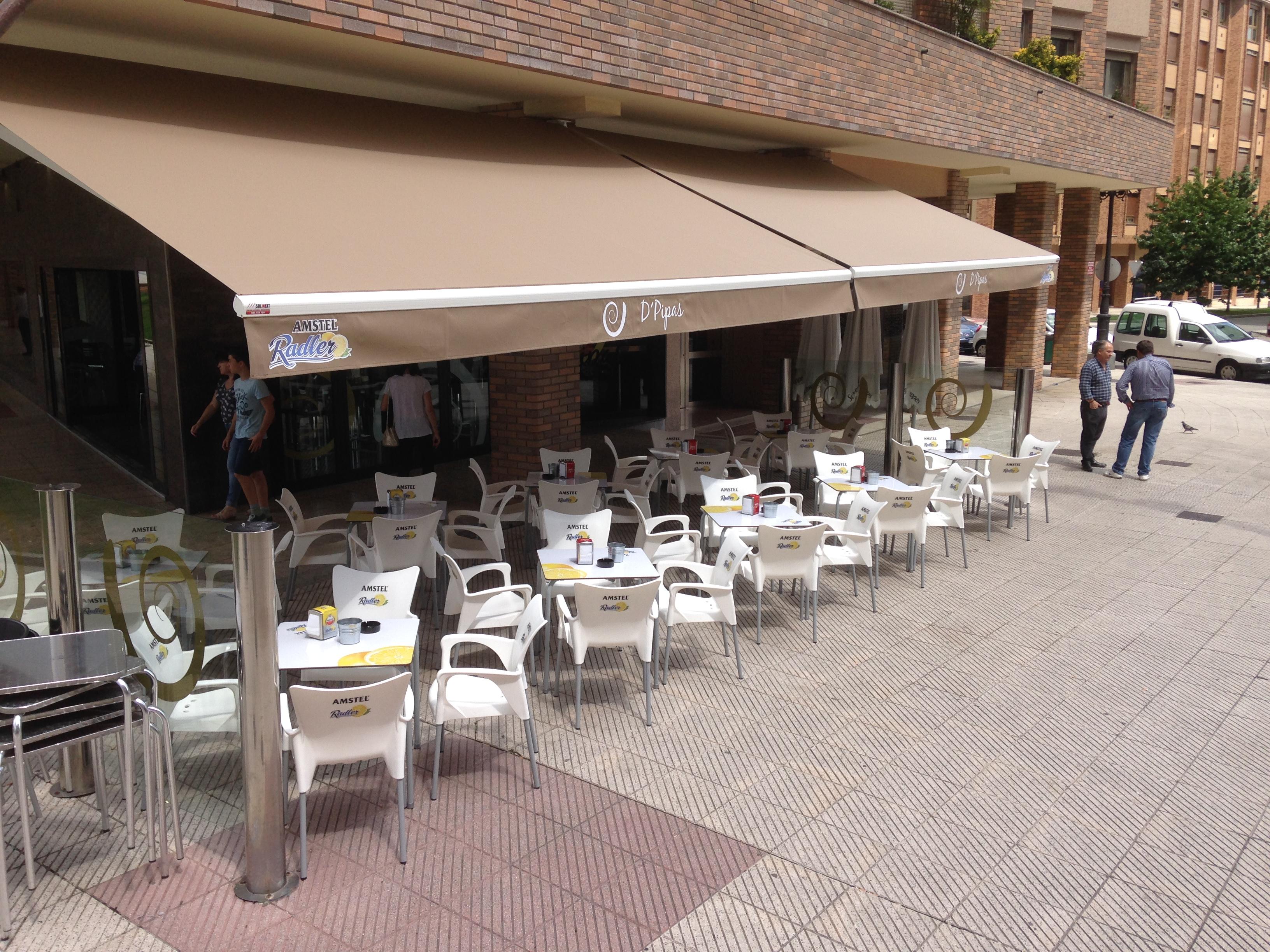 Toldos oviedo cafe bar d 39 pipas toldos en asturias - Magor tendederos ...