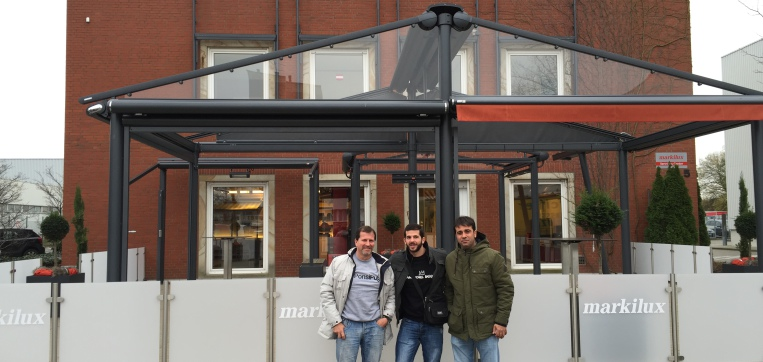 Visita a la fabrica de markilux solinext en alemania - Tendedero magor ...