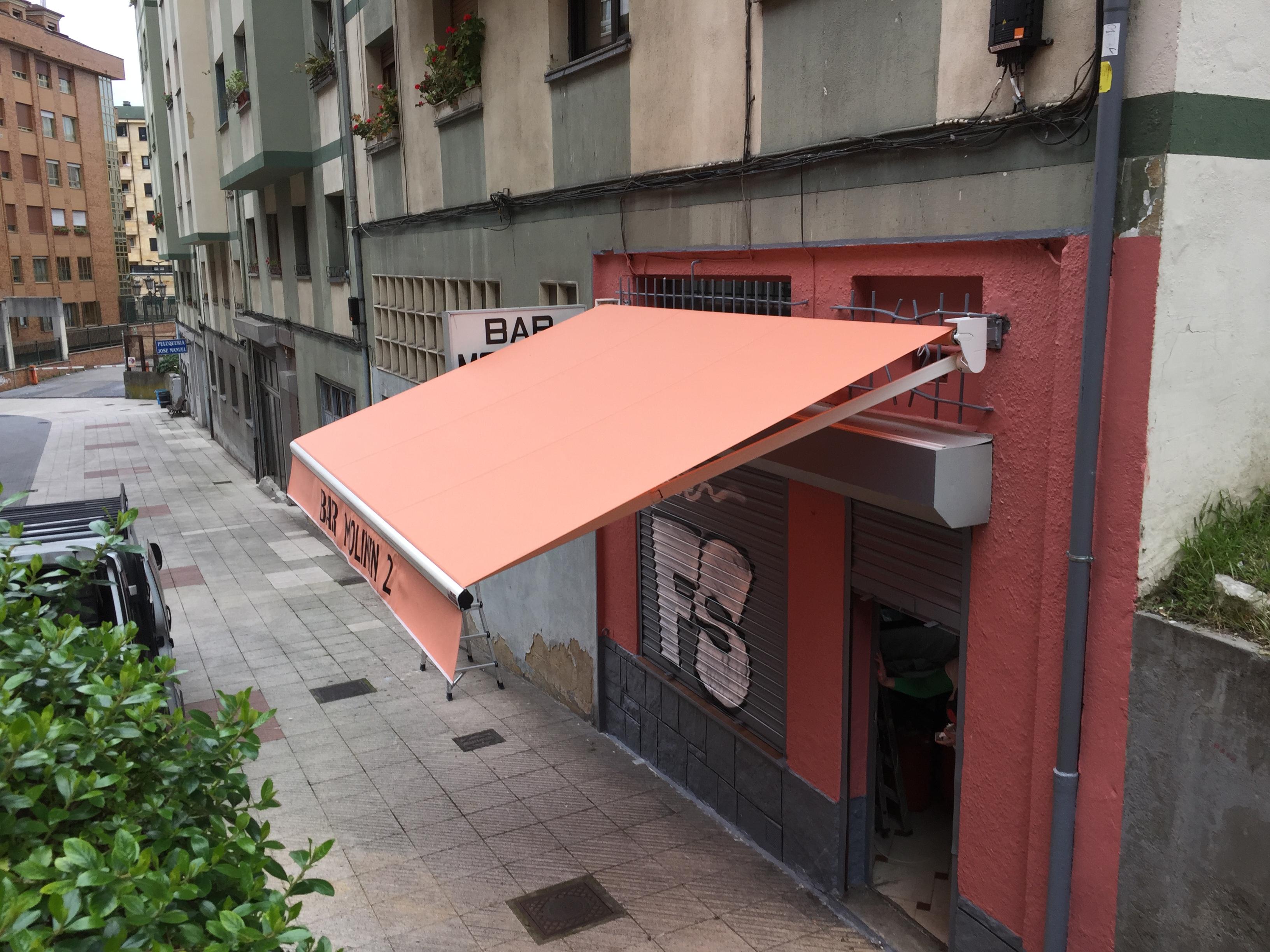 Toldos para bares en oviedo toldos en asturias - Toldos terrazas bares ...
