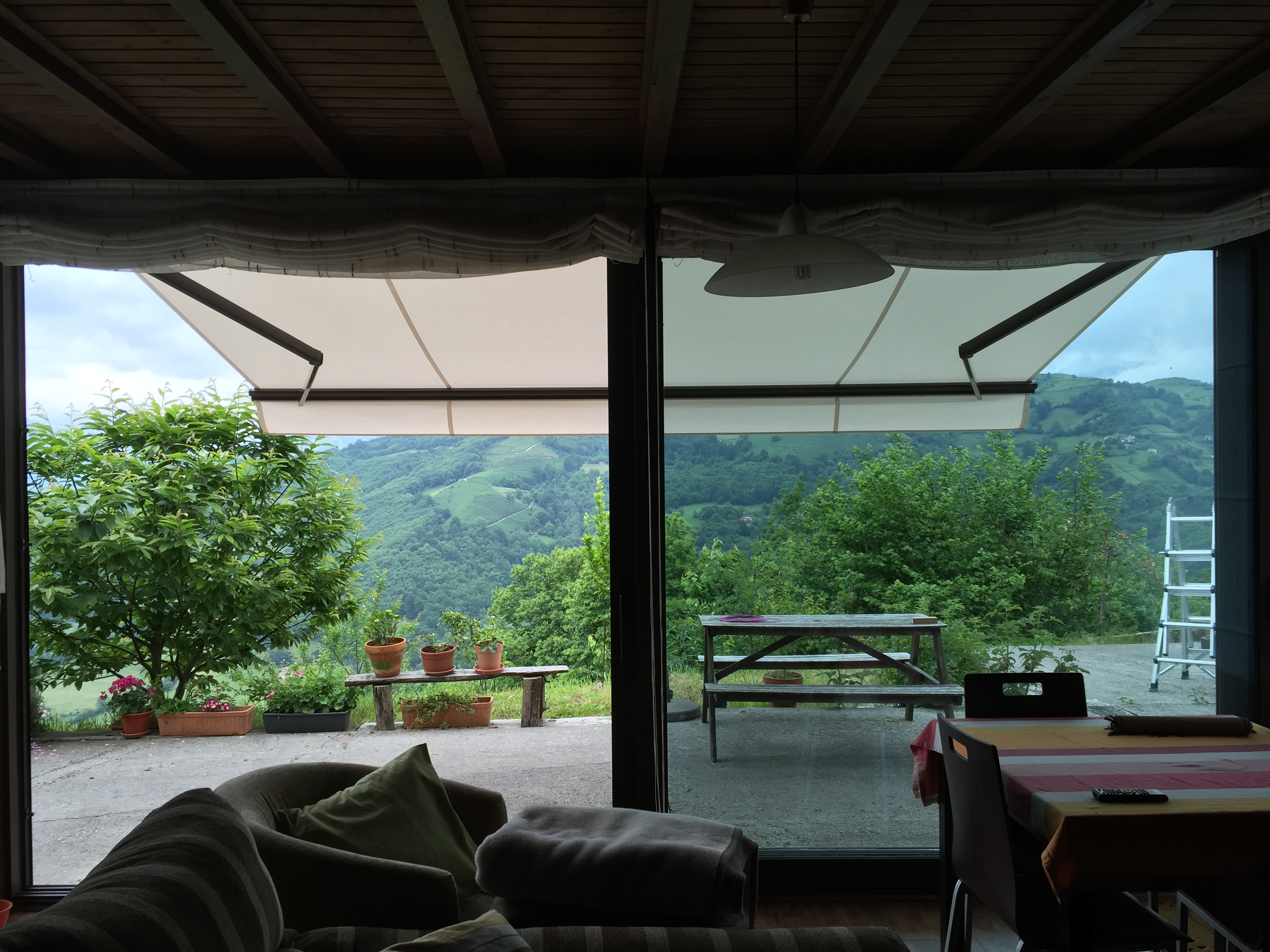 toldo para terraza Asturias
