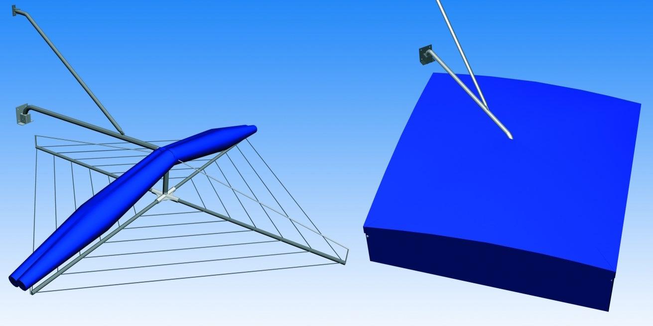 tendedero eolo toldo system